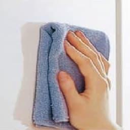 【日本製】シンプルスタイルワードローブ ブレザー 幅77.5cm奥行56cmタイプ キズ付きにくく、汚れてもお手入れが簡単。