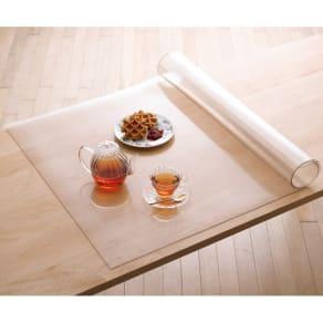 アキレス高機能テーブルマット 約90×90cm 写真
