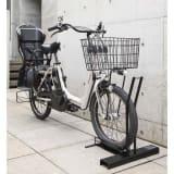 スロープ付き電動自転車スタンド 1台用 写真