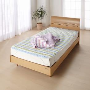 2段ベッド用 (パシーマ pasima EX 先染めタイプ パッドシーツ) 写真