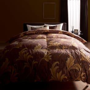 シングルロング(最高位ラベル取得ポーランド産マザーグースプレミアム羽毛掛け布団 立体2層羽毛布団) 写真
