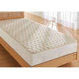 西川の洗える制菌わたベッドパッド シングル
