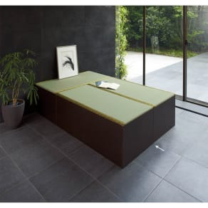 ユニット畳シリーズ お得なセット 3畳セット 幅120奥行180cm 高さ45cm 写真