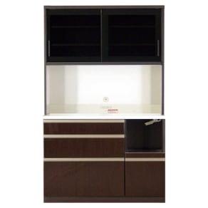 高機能 モダンシックキッチン キッチンボード 幅120奥行45高さ193cm 写真