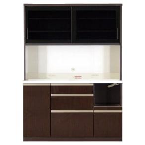 高機能 モダンシックキッチン キッチンボード 幅140奥行51高さ193cm 写真