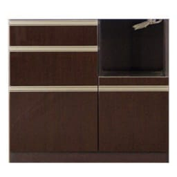高機能 モダンシックキッチン キッチンカウンター 幅90奥行45高さ85cm お届けの商品はこちらになります。