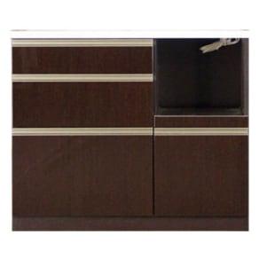 高機能 モダンシックキッチン キッチンカウンター 幅100奥行45高さ85cm 写真