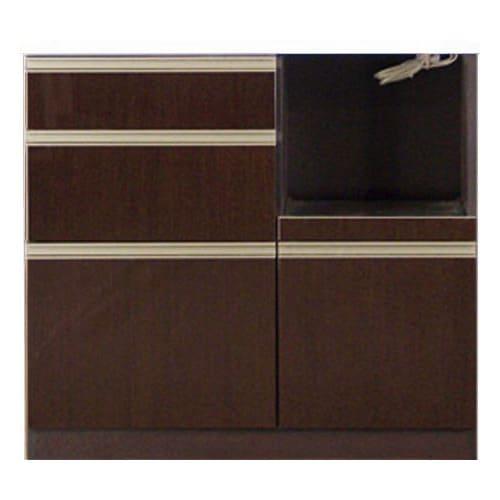 高機能 モダンシックキッチン キッチンカウンター 幅90奥行51高さ85cm お届けの商品はこちらになります。
