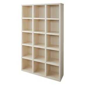 【完成品】重厚感のあるがっちり本棚シリーズ シェルフ 幅110高さ180奥行30cm 写真