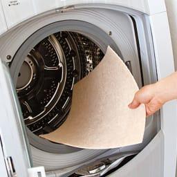 カテキン消臭&はっ水 おくだけ吸着タイルマット(30×30cm) 汚れた部分だけ洗濯OK! 汚れた部分だけを外して洗濯機で洗え、乾きもスピーディ。約50回洗濯しても、吸着力が持続します。