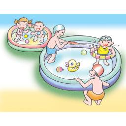 お風呂のハイパワーヒーター「沸かし太郎」 子供用プールにも