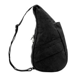 ヘルシーバックバッグ テクスチャードナイロン Sサイズ (オ)ブラック