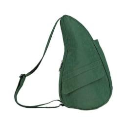 ヘルシーバックバッグ テクスチャードナイロン Sサイズ (イ)グリーン
