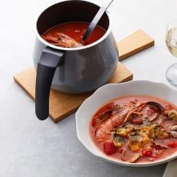 WMF ミネラルマルチポット トマトやカレーを作っても匂い移りがほとんどしません。汚れもするっと落ちます。