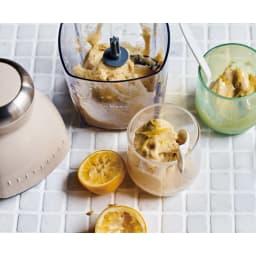 recolte  レコルト カプセルカッターボンヌ かき氷もできます! フルーツタップリのジェラートも