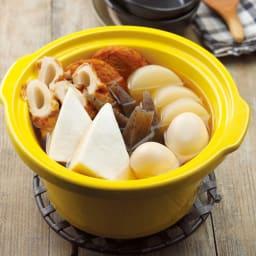 スロークッカー コトコト煮込みシェフ デリッシュキッチンプロデュース (ア)イエロー 内側の陶器の容器は取り外せます。