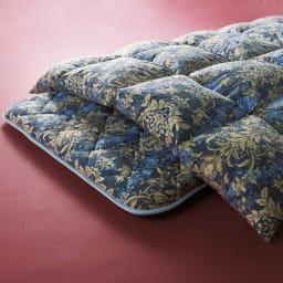 この価格スクープ級!! 5つ星ロイヤルバーゲン寝具 羽毛布団 シングルロング (ア)ネイビー ※お届けは羽毛掛け布団になります。