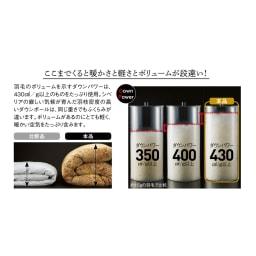 品質へのこだわり 【西川】 マザーグース羽毛布団