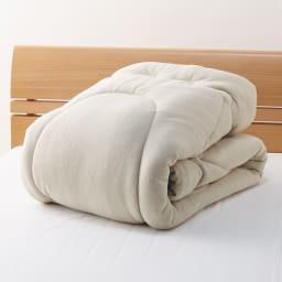 発熱するコットン「デオモイス」寝具シリーズ フランネルニットの掛け布団 たっぷりボリュームなのに軽い!