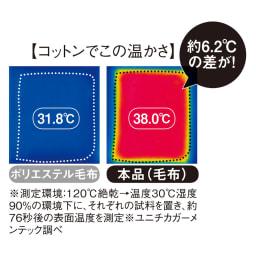 発熱するコットン「デオモイス」寝具シリーズ リバーシブルピローケース 「自然素材でこんなに温かい理由」