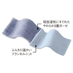発熱するコットン「デオモイス」寝具シリーズ リバーシブル掛けカバー 発熱するコットンは、アイテムに合わせて2種類の素材をご用意しました。