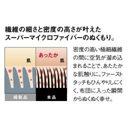 モチモチとろける触感 あったかカバーリングシリーズ パッド一体型ボックスシーツ