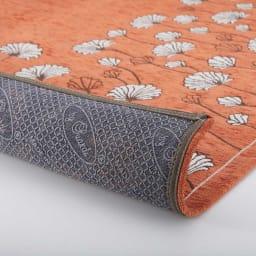 イタリア製ジャカード織りマット〈カリーナ〉 裏面:滑りにくい加工