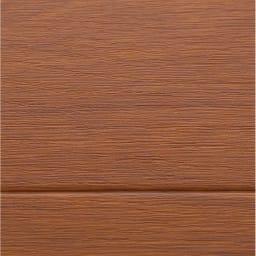 ホットキッチンマット 幅45cm 木目柄 (イ)ダークブラウン