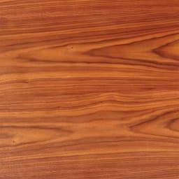 昇降式ダイニングこたつテーブル 120×80cm (ア)ダークブラウン 表情豊かな天然木素材。美しい木目が楽しめます。