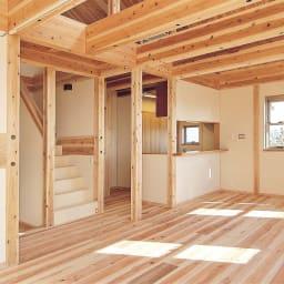 国産杉 1cmピッチ頑丈シェルフ 幅40奥行19本体高さ93cm 【建築材にも使われる丈夫な素材】国産杉は、しっかり目の詰まった木質による丈夫さが特長。建築材にも使われているこの素材をそのまま加工している書棚は、長い年月使い続けても安心の確かな耐久性を備えています。