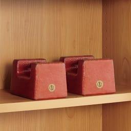 組立不要 アルダー引き戸頑丈本棚 幅75.5cm ハイタイプ 棚板一枚当たりの耐荷重「約30kg」で頑丈な造り。