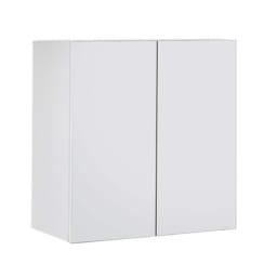高さサイズオーダー上置き幅80奥行31 工夫満載!壁面書棚(本棚)リフォームユニット 上置き奥行31cm 幅80cm高さ26~90cm (イ)前面:ホワイト・本体:ホワイト