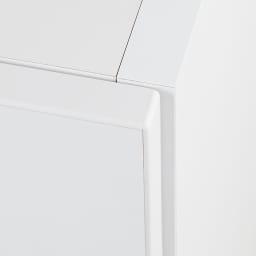 お部屋の天井構造を考慮した壁面ワードローブ ハンガー&引き出し 幅30高さ140cm(低い梁下に) 丁寧な造りで美しい仕上がり