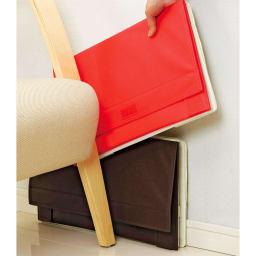 たためるスタッキングボックス3個組 折り畳んで収納可能。