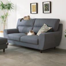 ペットの引っ掻きに強いソファ 3人掛け 幅190cm