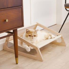 ペット用ハンモックベッド 帆布タイプ 写真