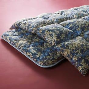 羽毛増量タイプ(5つ星ロイヤルバーゲン寝具 お得な羽毛布団2枚組 シングルロング) 写真