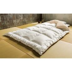 日本の伝統技術×最新素材から生まれた真綿布団のような贅沢感 殿様ふとん お得なカバー付きセット