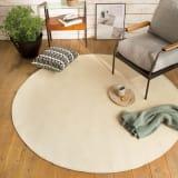 シェニールフラットラグ 円形・約径185cm  写真