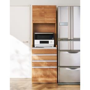 大型レンジ対応ステンレスクリーンキッチン キッチンボード 幅60cm 写真