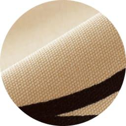 寝心地こだわりごろ寝布団 洗える専用カバー付きセット 丈夫でサラッと快適な綿100%のオックス生地。