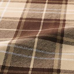 寝心地こだわりごろ寝布団 洗える専用カバー付きセット (ウ)ベージュXブラウン