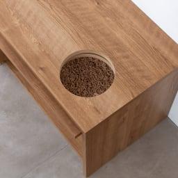 猫トイレを目隠しできる! ネコのくつろぎスペース付きテレビ台 幅180cm