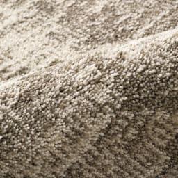 リラックスウィズラグ ブチマル・トラマル 約130×185cm (ウ)トラマルグレー