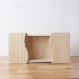 想ひ箱 日本製ミニ仏壇 ブラック・グレー 中の板は取り外すこともできます。 ※お届けの商品とは色が異なります。