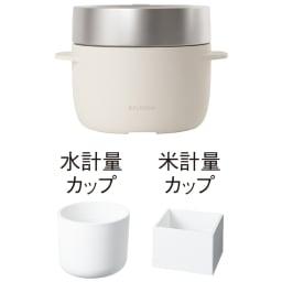 【送料無料】BALMUDA The Gohan バルミューダ ザ・ゴハン 炊飯器 (イ)ホワイト