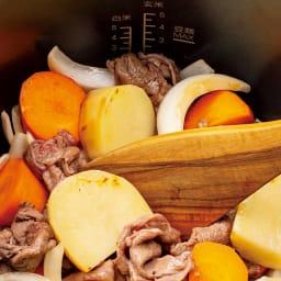 【特典レシピブック付き】 炒められる!ほったらかし調理!Cuisinart クイジナート電気圧力なべ4L 弱火+低圧力で肉じゃが