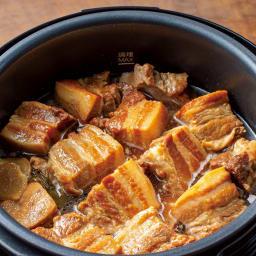 【特典レシピブック付き】 炒められる!ほったらかし調理!Cuisinart クイジナート電気圧力なべ4L 強火+高圧力で角煮