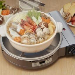 iwatani イワタニ ビストロの達人III カセットコンロ 土鍋も9号まで使えます