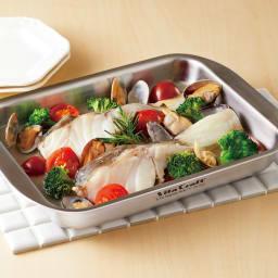 魚焼きグリルでもう1品!ビタクラフト グリルイングリル 調理例:アクアパッツァ